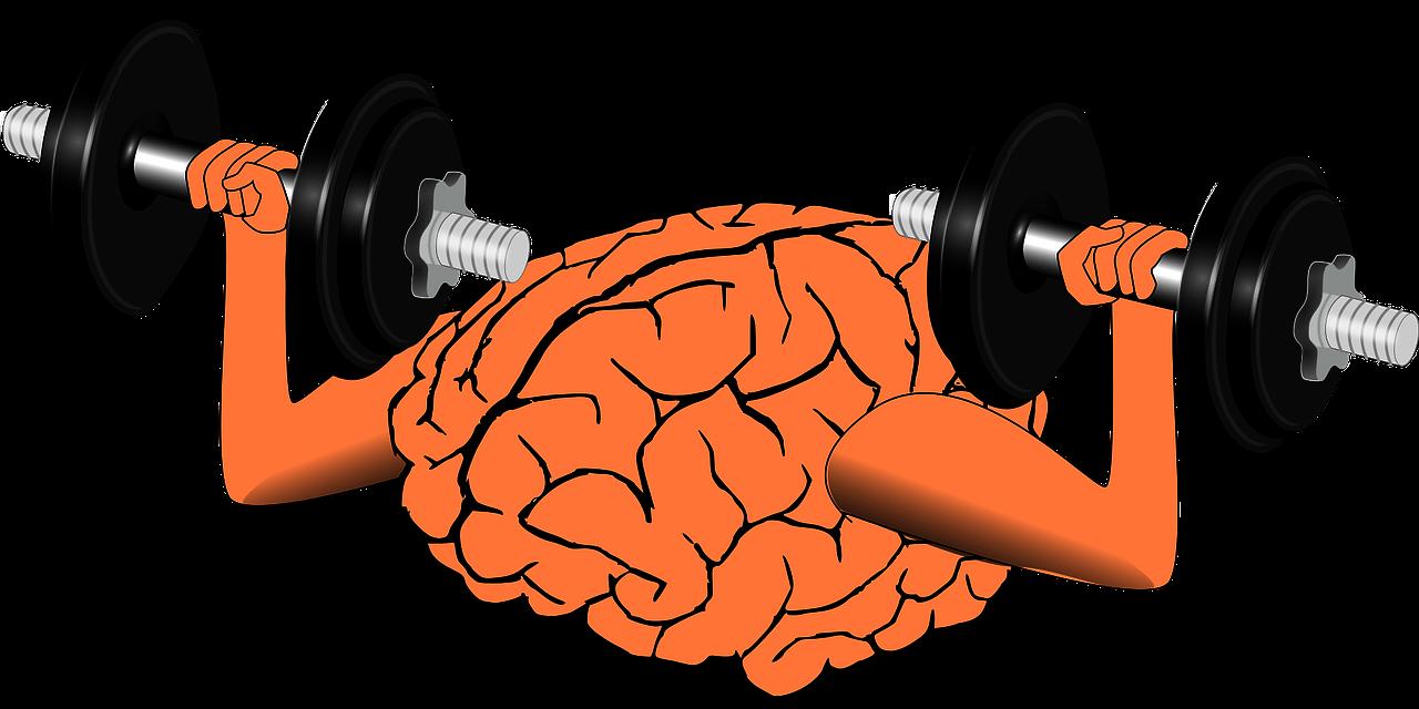 Mózg podnoszący ciężary.